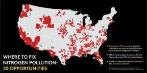 Nitrogen Pollution Map